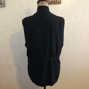 Jones New York Sport Jackets & Coats - Jones New York black vest, size XL